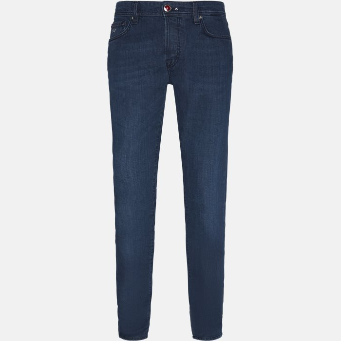 Jeans - Regular fit - Blå